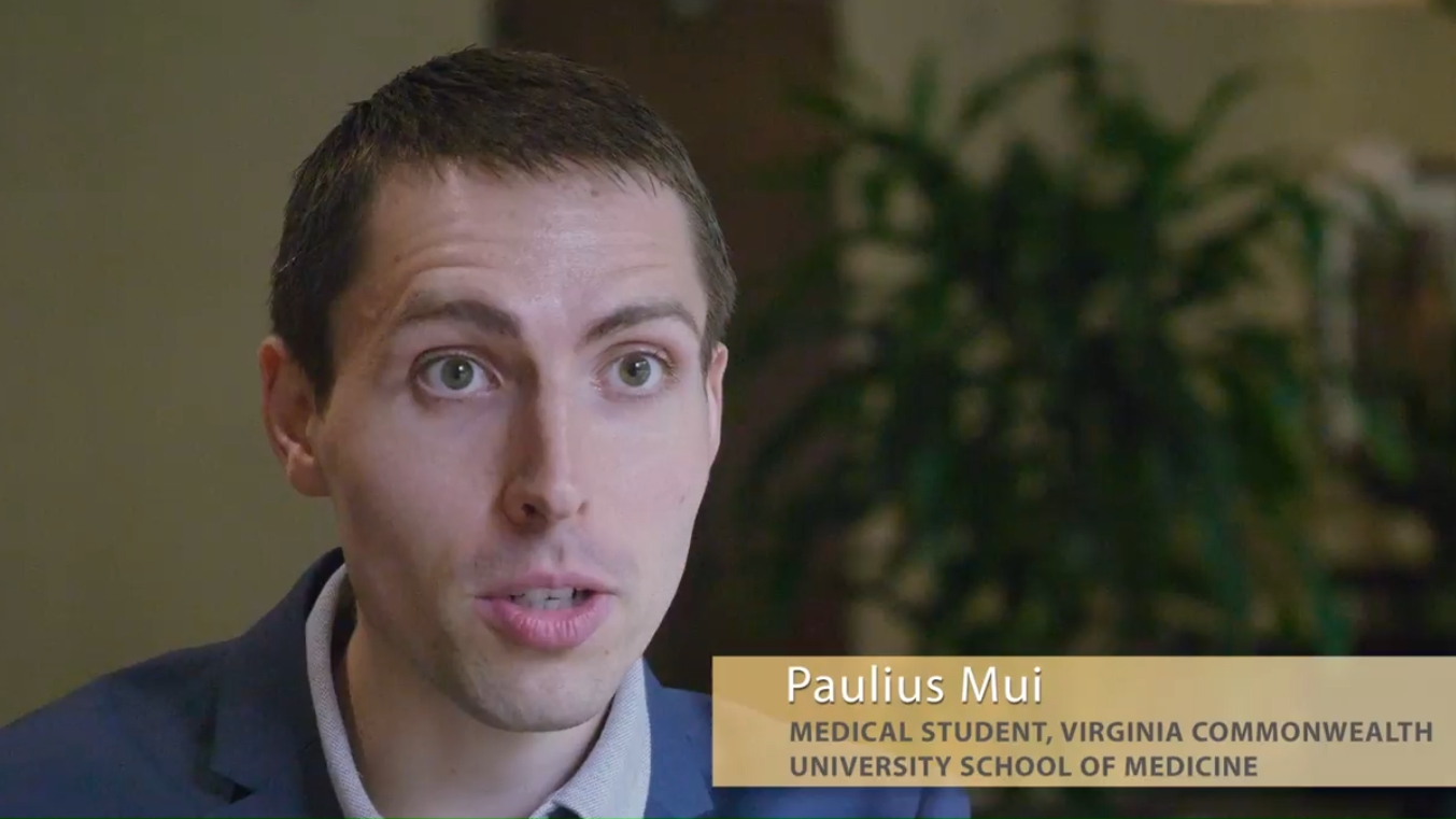 fmScholar Paulius Mui's Interest in Rural Medicine Guides His Research